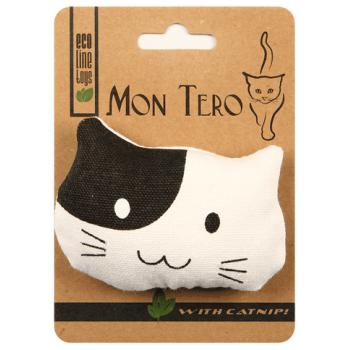 """Mon Tero / Мон Теро ЭКО игрушка для кошек """"Кошка"""", 9смх7 см, с кошач.мятой"""