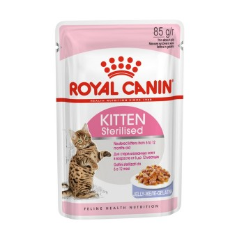 Royal Canin / Роял Канин Kitten Sterilised Jelly желе, 85 гр