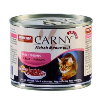 Animonda Carny Adult конс. 200 гр. с индейкой и креветками для взрослых кошек 83499