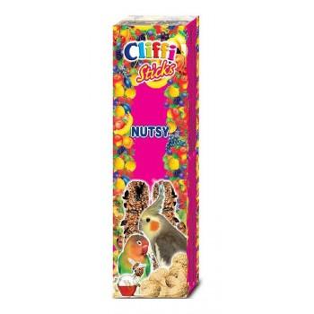Cliffi / Клиффи Лакомства для Длиннохвостых попугаев: Палочки арахисом медом PCOA423