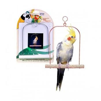 Penn-Plax / Пен-Плакс Игрушка для птиц Качели для птиц 22,5см цемент (1х12) BA223