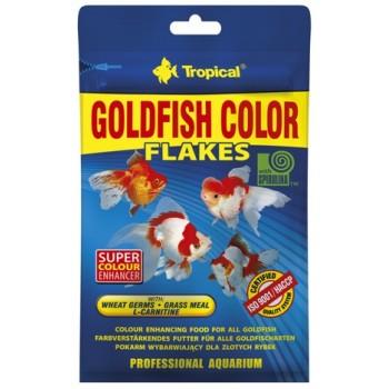 Tropical / Тропикал 703717/85924 корм для золотых рыбок красящий (хлопья) Goldfish Color 12гр