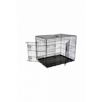 Papillon / Папиллон Клетка металлическая с 2 дверками 87*58*67 см, черная
