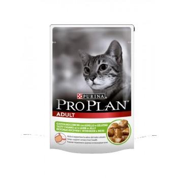 "Pro Plan / Про План ""Adult"" для для кошек Ягненок пауч 85 гр"