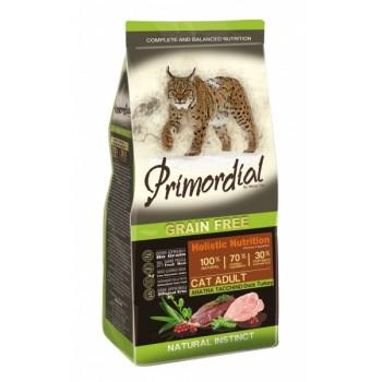 PRIMORDIAL / ПРИМОРДИАЛ Корм сух для кошек б/зерн утка индейкар 400 гр