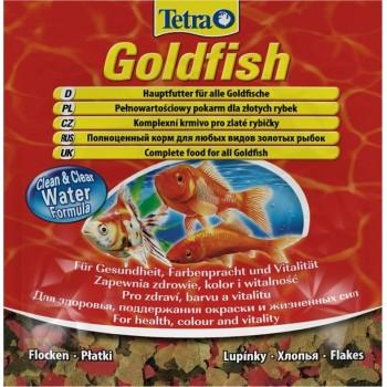TetraGoldfish / Тетра корм в хлопьях для золотых рыбок 12 г (sachet)