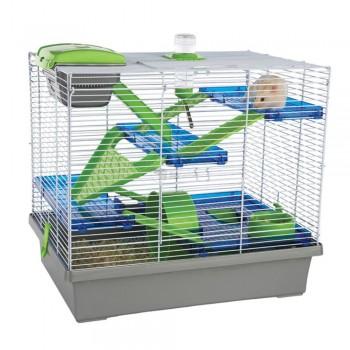 Rosewood Клетка для мелких грызунов PICO XL, серая