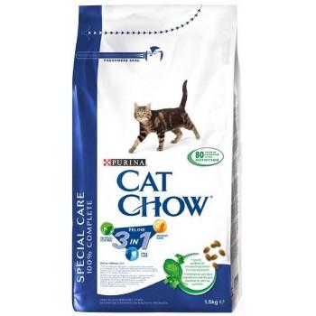 """Cat Chow / Кэт Чоу """"Feline"""" сухой 1,5 кг для кошек 3 в 1"""