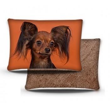 PERSEILINE ПОДУШКА Дизайн 3D фотопечать №4 с кошкой/собакой 48*36 (00233/ПД-4)