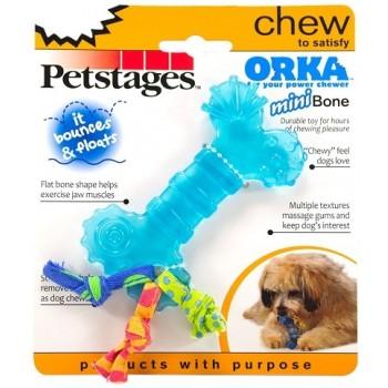 "Petstages / Петстейджес игрушка для собак Mini ""ОРКА косточка"" 10 см"