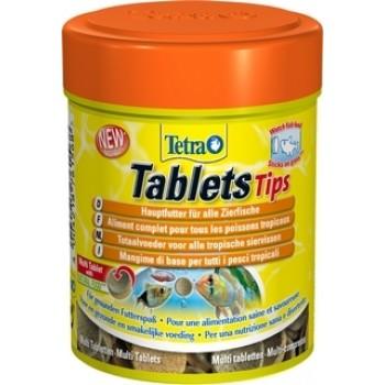 TetraTabletsTips / Тетра корм в таблетках для приклеивания к стеклу 165 таб.