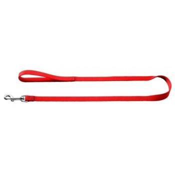 Hunter / Хантер Smart поводок для собак Ecco 10/110 нейлон красный