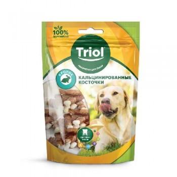 Triol / Триол Кальцинированные косточки с кроликом для собак, 70г