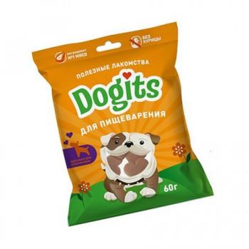 Догитс Лакомство д/собак для пищеварения 60г