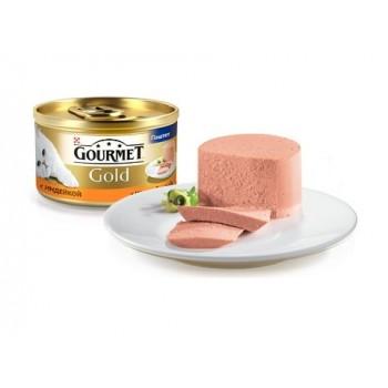 Gourmet Gold / Гоурмет Голд для кошек Индейка паштет 85 гр