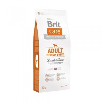 Brit / Брит Care Adult Medium Breed д/взросл, собак средн,пород, ягненок с рисом, 12 кг