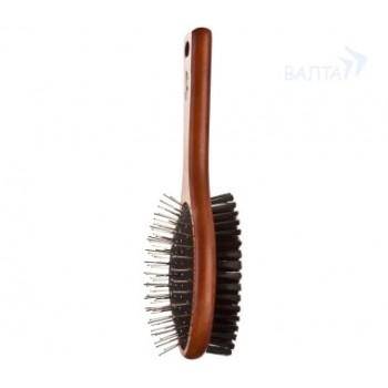 Oster / Остер Premium Combination Brush щетка деревянная шпильки/щетина