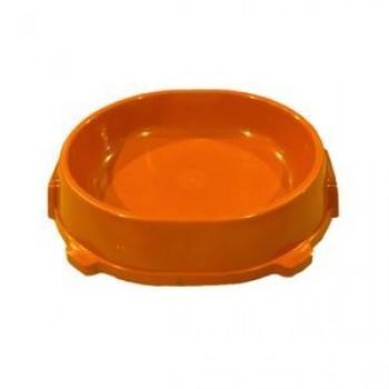Favorite / Фаворит миска пластиковая нескользящая 0,22л. оранжевая