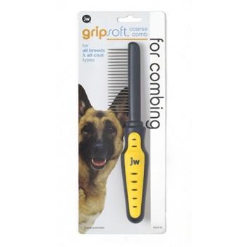JW Расческа для собак с редкими зубьями Grip Soft Dog Coarse Comb (65019)