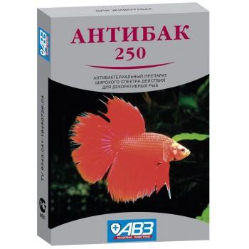 """""""Антибак-250"""" антибактериальный иммунизирующий препарат для декоративных рыб, 6 табл"""