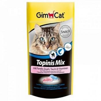 """Gimcat / ГимКэт Лакомство витаминиз.""""Мышки"""" МИКС: с форелью/творогом/таурином д/кошек, 40г"""