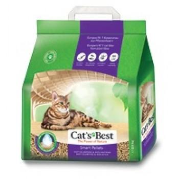 Наполнитель Cat's Best Smart Pellets 5л*3кг Древесный комкующийся