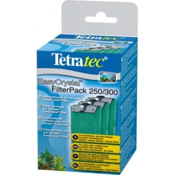 Tetra / Тетра EC 250/300 фильтрующие картриджи без угля для внутренних фильтров EasyCrystal 250/300 3 шт.