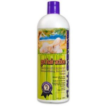 1 All Systems / Олл Системс Smoothing Keratin Shampoo шампунь выпрямляющий с кератином 946 мл