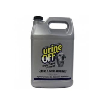 Urine OFF / Юрин Офф, Средство для уничтожения пятен и запахов от собак и щенков, UO Odor and Stain Remover, Dog & Puppy, 3785 ml