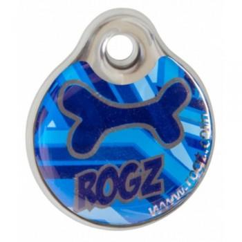 """Rogz / Рогз Адресник пластиковый малый, """"Морской"""" (INSTANT ID TAG SMALL)"""