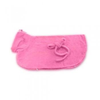 Иванко Халатик для домашних животных L 80х45 см розовый
