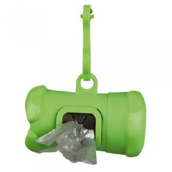 Trixie / Трикси 22846 Контейнер пластиковый для уборочных пакетов за животными с 15 пакетами, 3л