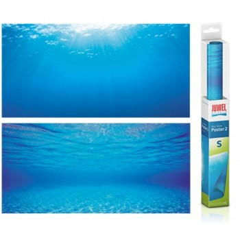 Juwel / Ювель Фон-пленка Juwel Poster голубая вода 60х30см