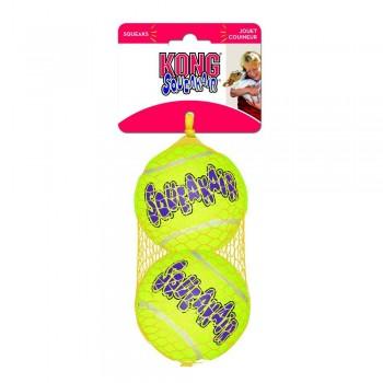 """Kong / Конг игрушка для собак Air """"Теннисный мяч"""" большой (в упаковке 2 шт.), 8 см"""