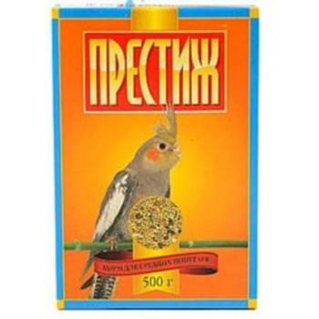Престиж Корм д/средних попугаев, 500 гр