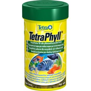 TetraPhyll / Тетра корм для всех видов рыб растительные хлопья 100 мл