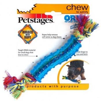 """Petstages / Петстейджес игрушка для собак Mini """"ОРКА палочка"""" 18 см маленькая"""