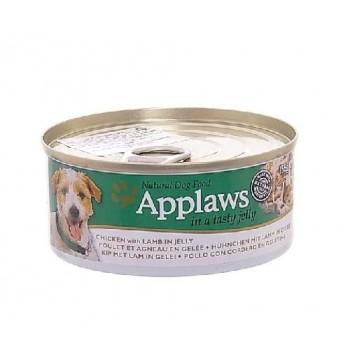 Applaws / Эпплаус Консервы для Собак Курица и Ягненок в желе Chicken with Lamb with Jelly 156 гр