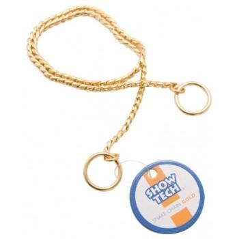 Show Tech металлическая шоу цепочка-кобра 65 см х 4 мм золотая
