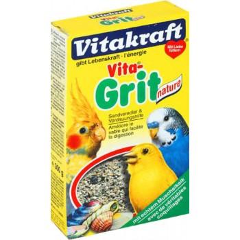 Vitakraft / Витакрафт VITA GRIT NATURE Песок для всех видов птиц 300г