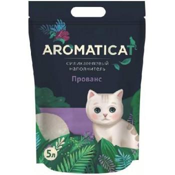 """AromatiCat / АроматиКэт Силикагелевый наполнитель """"AromatiCat"""" 5л. Прованс"""