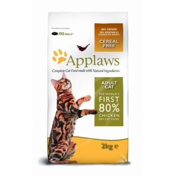 "Applaws / Эпплаус для кошек ""Курица/Овощи: 80/20%"" 2 кг"