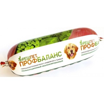 Фрешпет Профбаланс кон.д/собак Гипоаллергенный ролл с индейкой и тыквой 400г