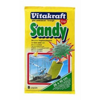 Vitakraft / Витакрафт SANDY Песочное дно для птиц 26х40 см