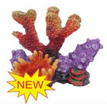 Penn-Plax / Пен-Плакс Декорация Кораллы на рифе 10,5х9х9,5см FIAD-1172