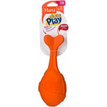 Hartz / Хартц Игрушка д/собак - Ракета рифлёная, латекс с наполнителем, запах бекона, маленькая Dura Play Rocket - Small