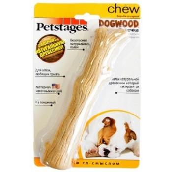 Petstages / Петстейджес игрушка для собак Dogwood палочка деревянная 18 см средняя