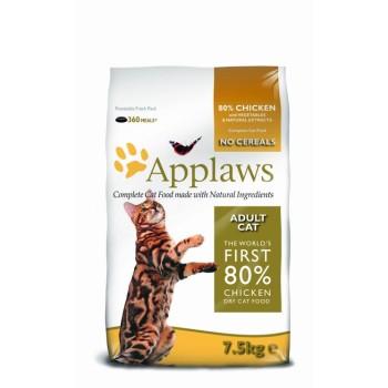"Applaws / Эпплаус для кошек ""Курица/Овощи: 80/20%"" 7,5 кг"