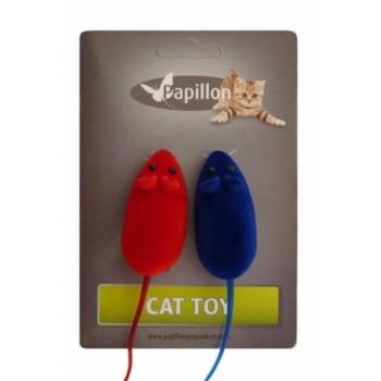Papillon / Папиллон Игрушка Мышка, вельвет, 6см