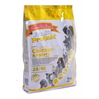 Frank's ProGold / Франкс ПроГолд для собак Беззерновой: с курицей и Молодым картофелем (Chicken&Potato 28/10) 3 кг